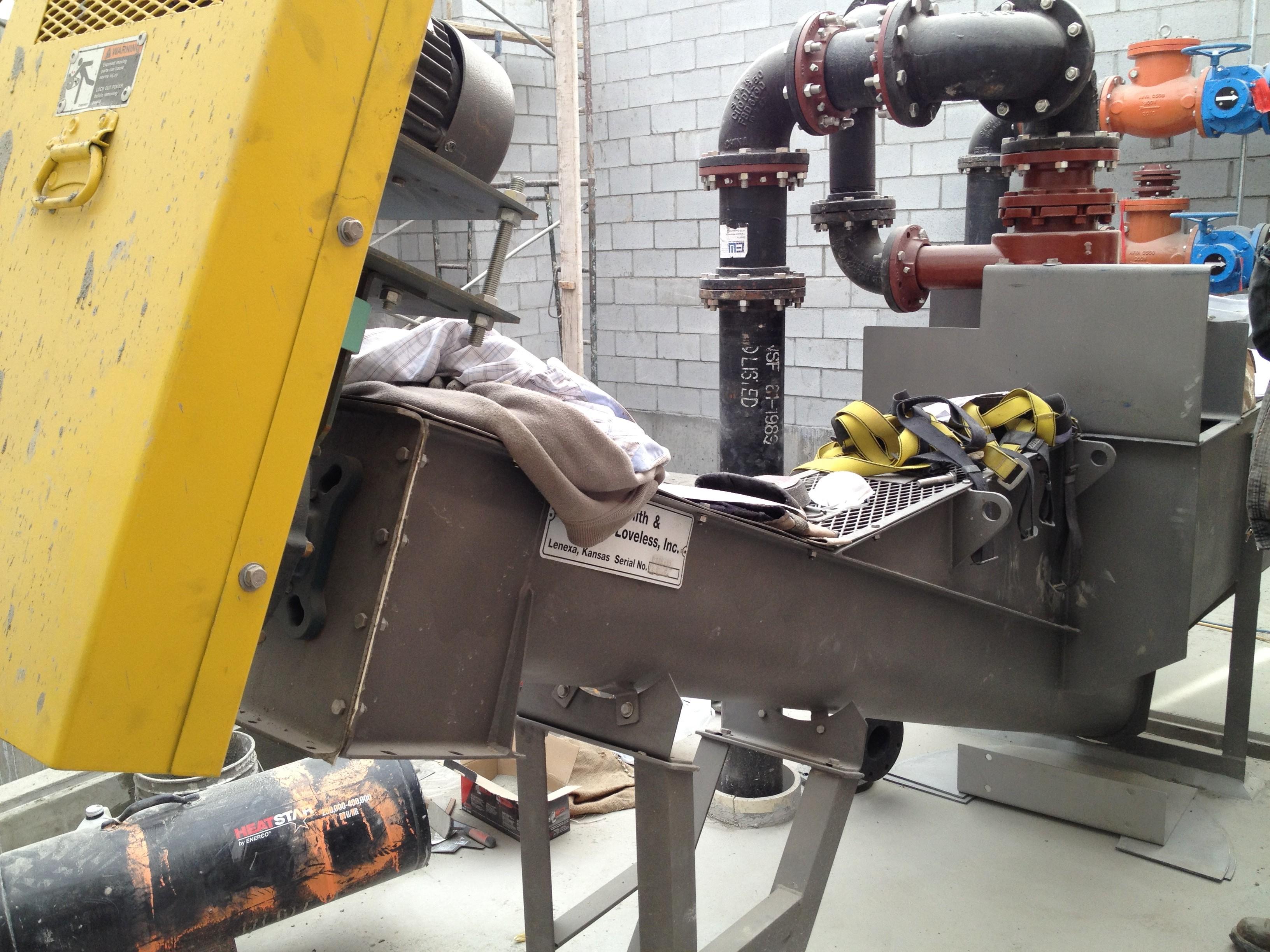 Soda Springs Wastewater Treatment Plant Headworks